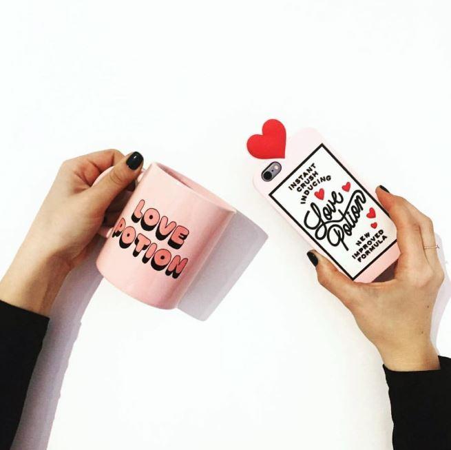 Love Potion則是在上頭加了一顆愛心,超可愛的吧!Ban.do的東西雖然價錢不是那麼親民,但設計感十足,非常對喜愛美式風格女孩的胃口