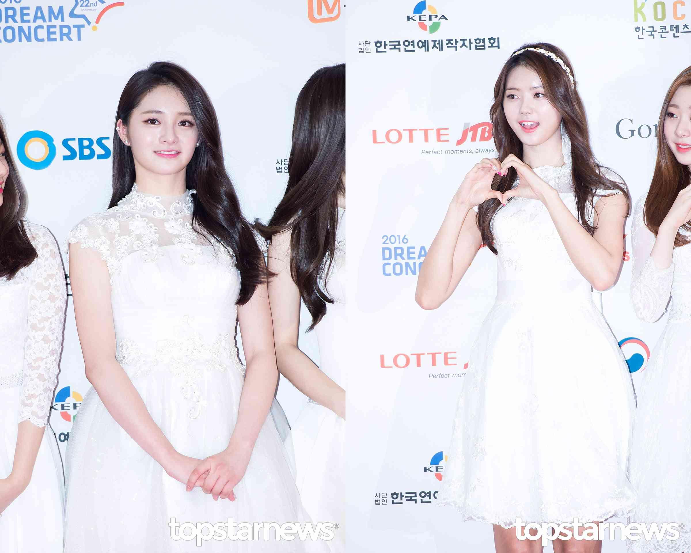 周潔瓊和林娜榮在6月25日,Pledis Girlz也有定期公演舉行