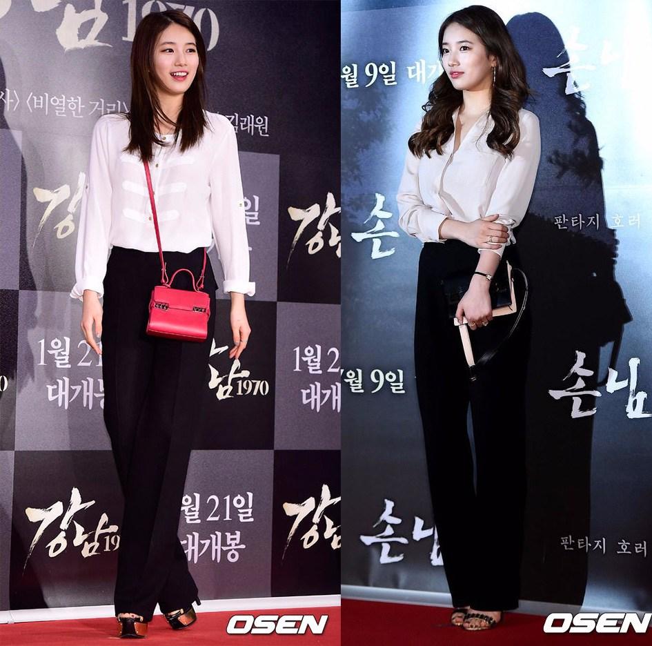 白襯衫 X 黑色高腰西褲,簡單大方的輕熟女風格,特別適合OL上班族。