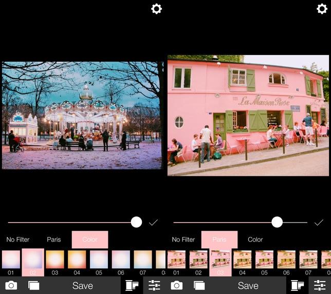 ► Analog Paris  巴黎的色感是比較偏向粉色系,可以讓照片看起來超粉嫩超可愛