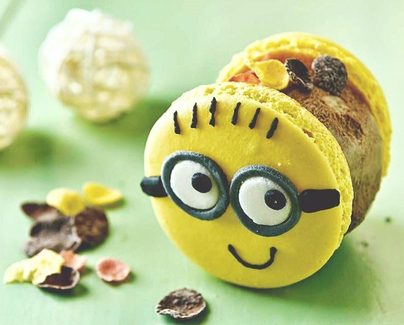 這間馬卡龍冰淇淋是走卡通風,你看看~~~~~是不是超可愛的♡♡♡♡♡