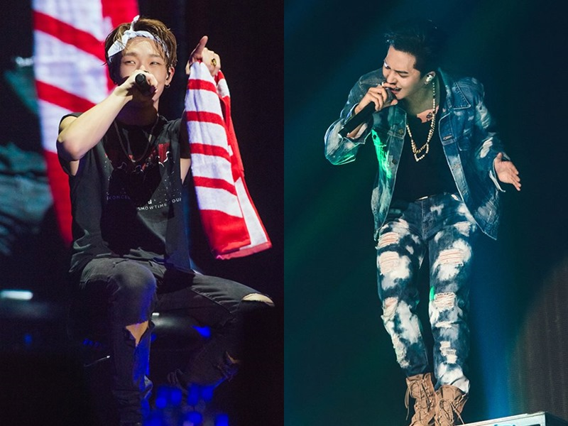 兩個人雖然在隊上都是rapper擔當,但是有不少共同點,例如都在饒舌選秀節目《Show Me The Money》參賽後,分別奪下第3季冠軍(Bobby)與第4季亞軍(MINO),饒舌實力備受大眾肯定~