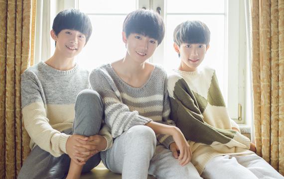 他們是在中國紅透半邊天的3人男子團體TFBoys,平均年齡15歲,爆紅當時才是國小年紀的他們,現在越來越有男孩的味道啦~