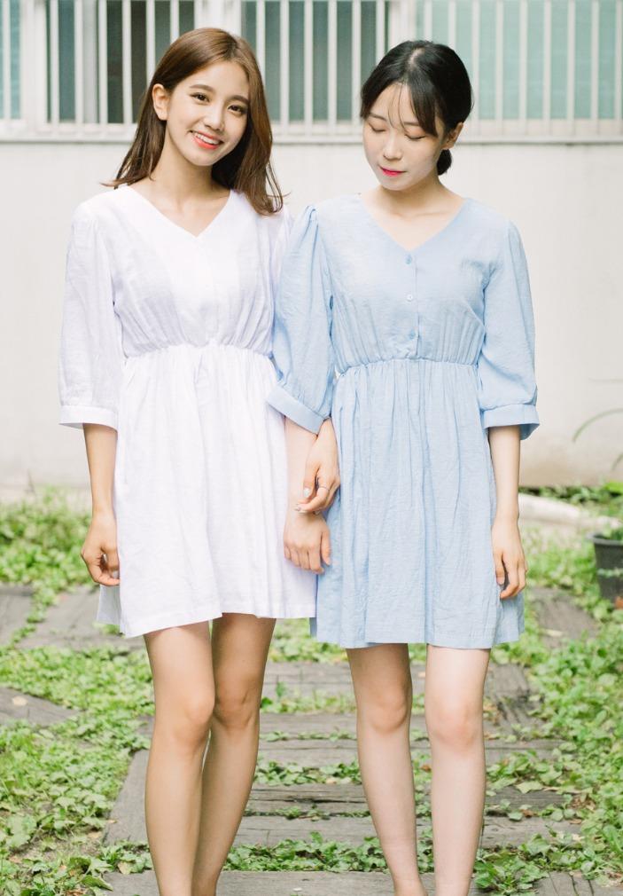 超方便Onepiece洋裝也是夏天不能少的衣服 ! 還能和姊妹一起穿閨蜜裝~
