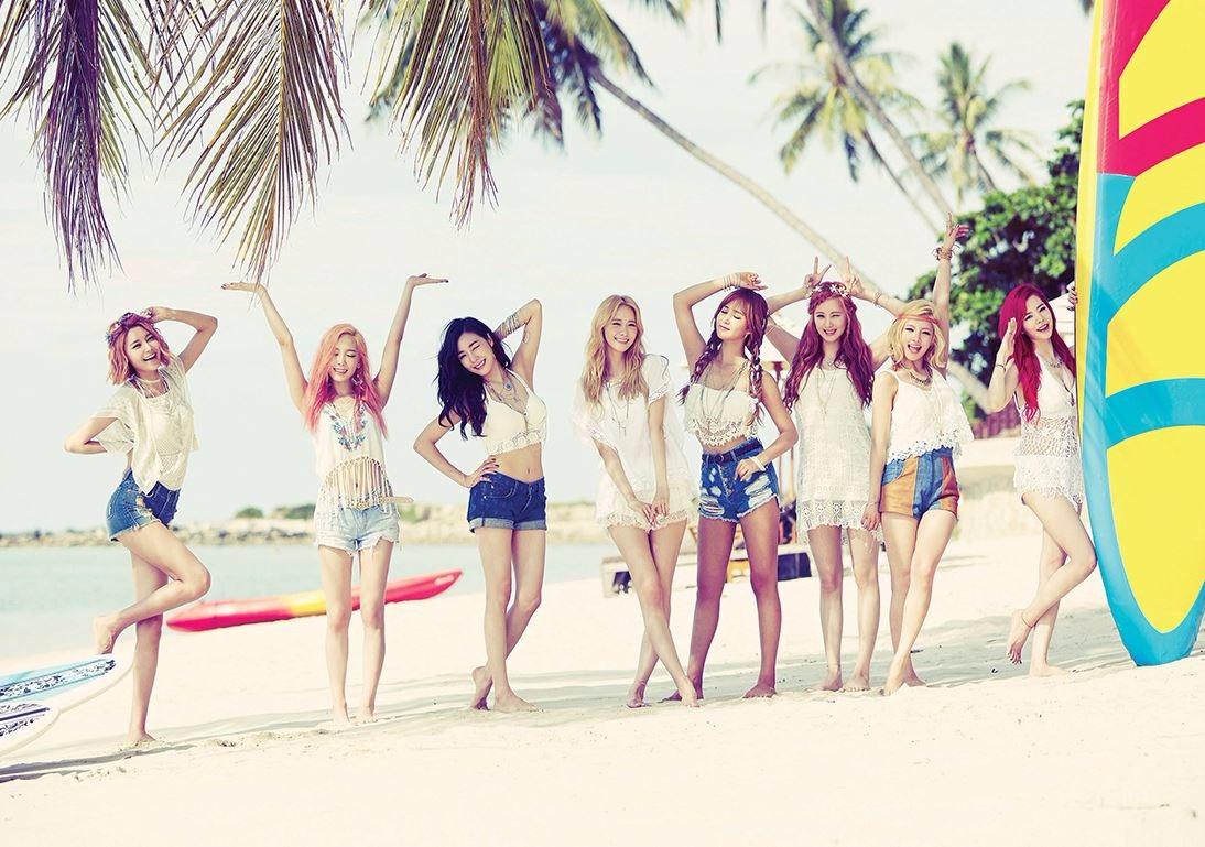 說到少女時代,可是韓國男女老少都喜歡也知名度最高的女團了