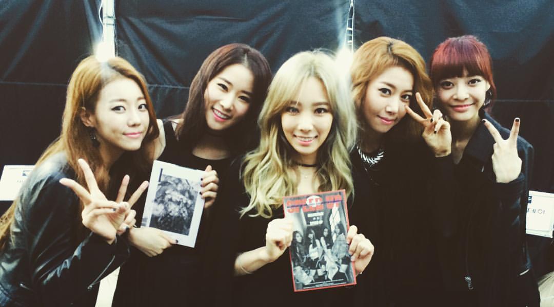 韓國女團想要生存下來真的不容易啊(汗) (意外發現太妍欸!)