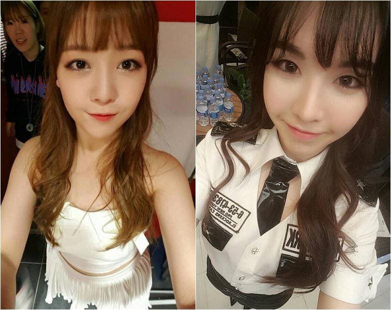 根本長得一模一樣雙胞胎外貌,讓小編想起了珉雅和她姊姊了,韓國演藝圈也太多基因優良的姐妹了吧!