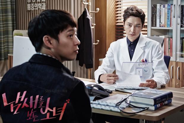 blossom娛樂還有《看見味道的少女》中,有著壞人臉的醫師,他是演員宋鍾鎬
