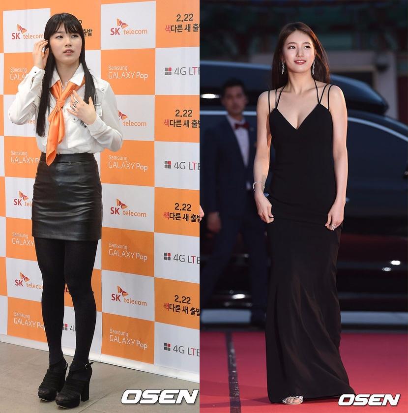 秀智自2010年出道以來,一直都是胖胖的形象,甚是有韓國網友將「 象鼻子」和秀智合在一起創造出新造詞「 秀鼻子」來形容秀智當時胖胖的身材。