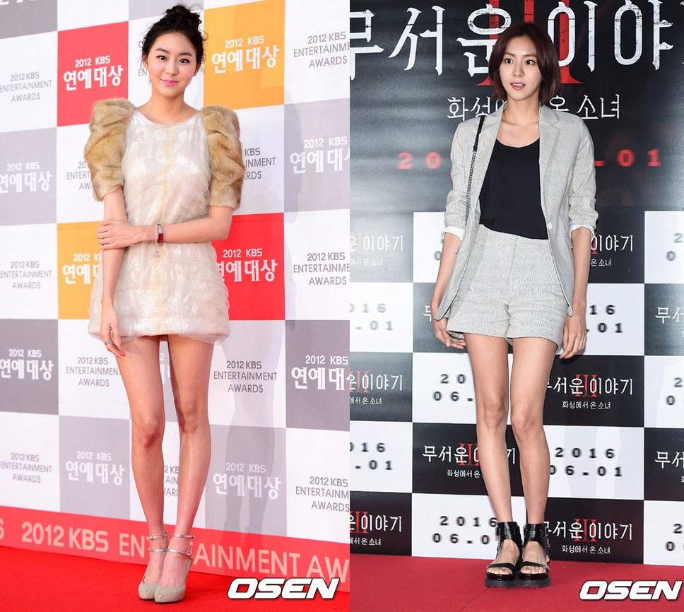 擁有「韓國的碧昂絲 」之稱的U-IE還有一個別名就是「蜜大腿 」,這全得益於她殘酷的減肥方法,U-IE的減肥秘訣就是登山和多做有氧運動。