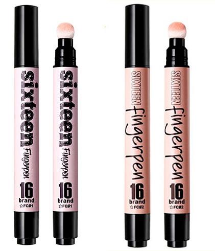 可以當做粉底液、遮瑕筆和打亮筆來用的只有這兩隻,適合冷暖膚色,而且還有SPE+50的防曬指數呢~~