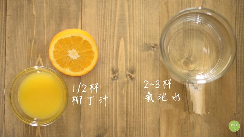 柳丁汁也是隨你喜好,放不放都沒差 但是氣泡水是必須要的喔! 最後加入稀釋,讓Sangria酒味比較不重!