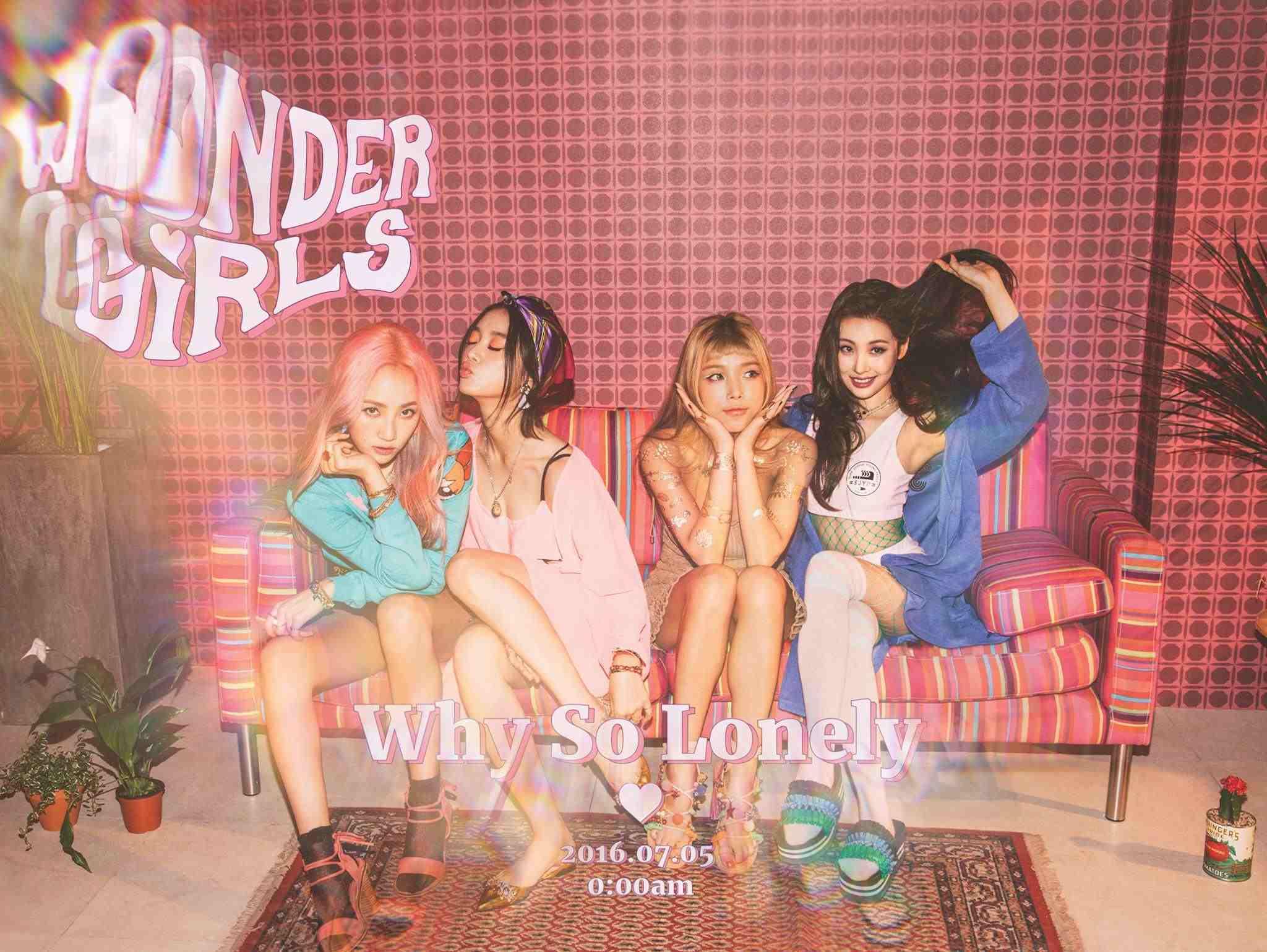 -「Wonder Girls不像以前一樣那麼大勢了,後期也逐漸走下坡,除非這次推出的歌曲有引起反應,要不然很難回到以前的人氣。」