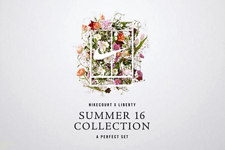 盛夏綠草如茵的網球場和鮮花,這些夏日特色成了NikeCourt x Liberty系列的靈感泉源