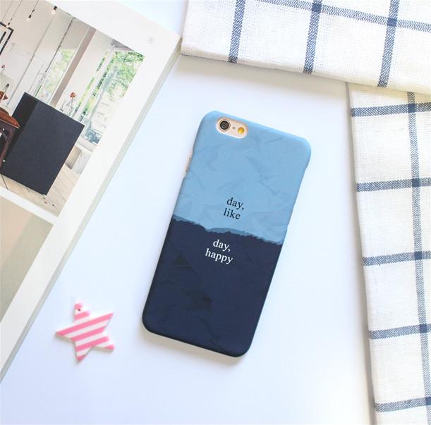 雙配色手機殼是男女都適合的設計,而且讓整體看起來好有質感 !