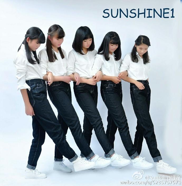 雖然看來還是中國的新人女團 Sunshine組合 更讓人過目不忘,但在一群高顏值的女團中holics 確實已經非常獨特了啦XDDD