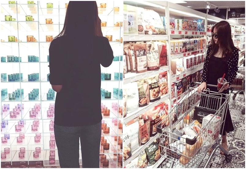 # 購物時 理想 : 去賣場時心想 : 我只要買一樣東西就好 ! 現實 : 購物車裝滿還要繼續塞下去