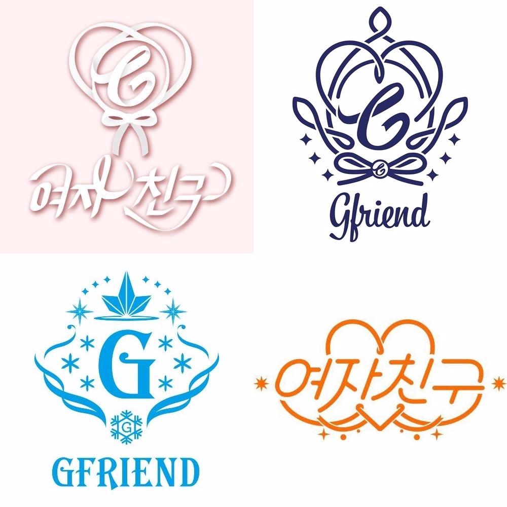 而且G-Friend的LOGO每次都很有設計感耶,又稱「女友體」字型XDD 不過拍海報的時候好像就會是一場災難(囧)