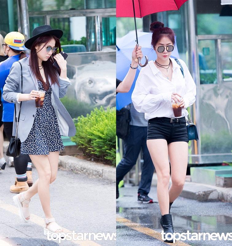 ◆韶宥 就算是穿可愛風的碎花裙,韶宥也能用一件西服外套和禮帽,搭出帥氣的Style。