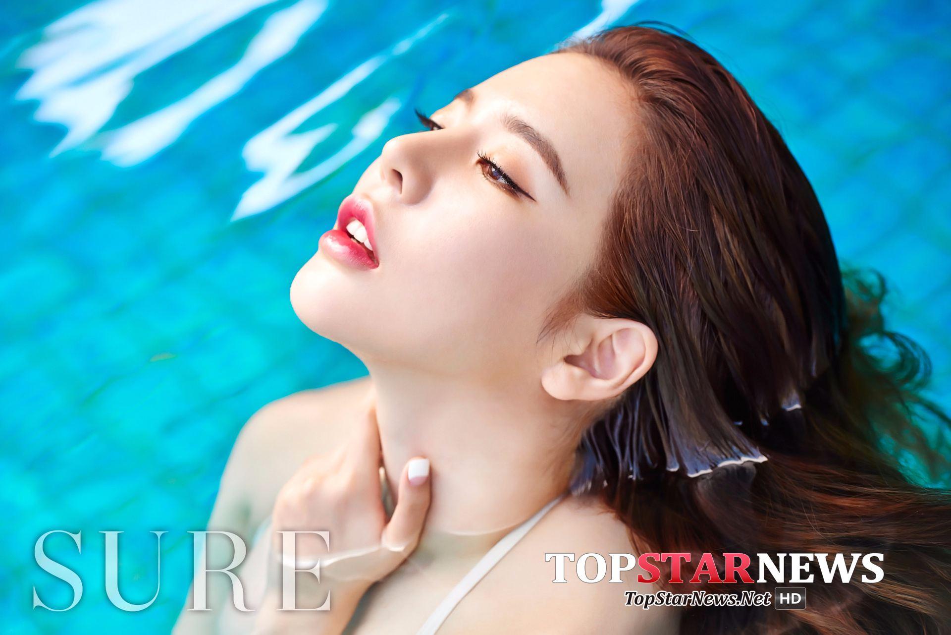 最後要看的是少女時代的Sunny~雖然她在最近拍的雜誌照好有女人味啊~