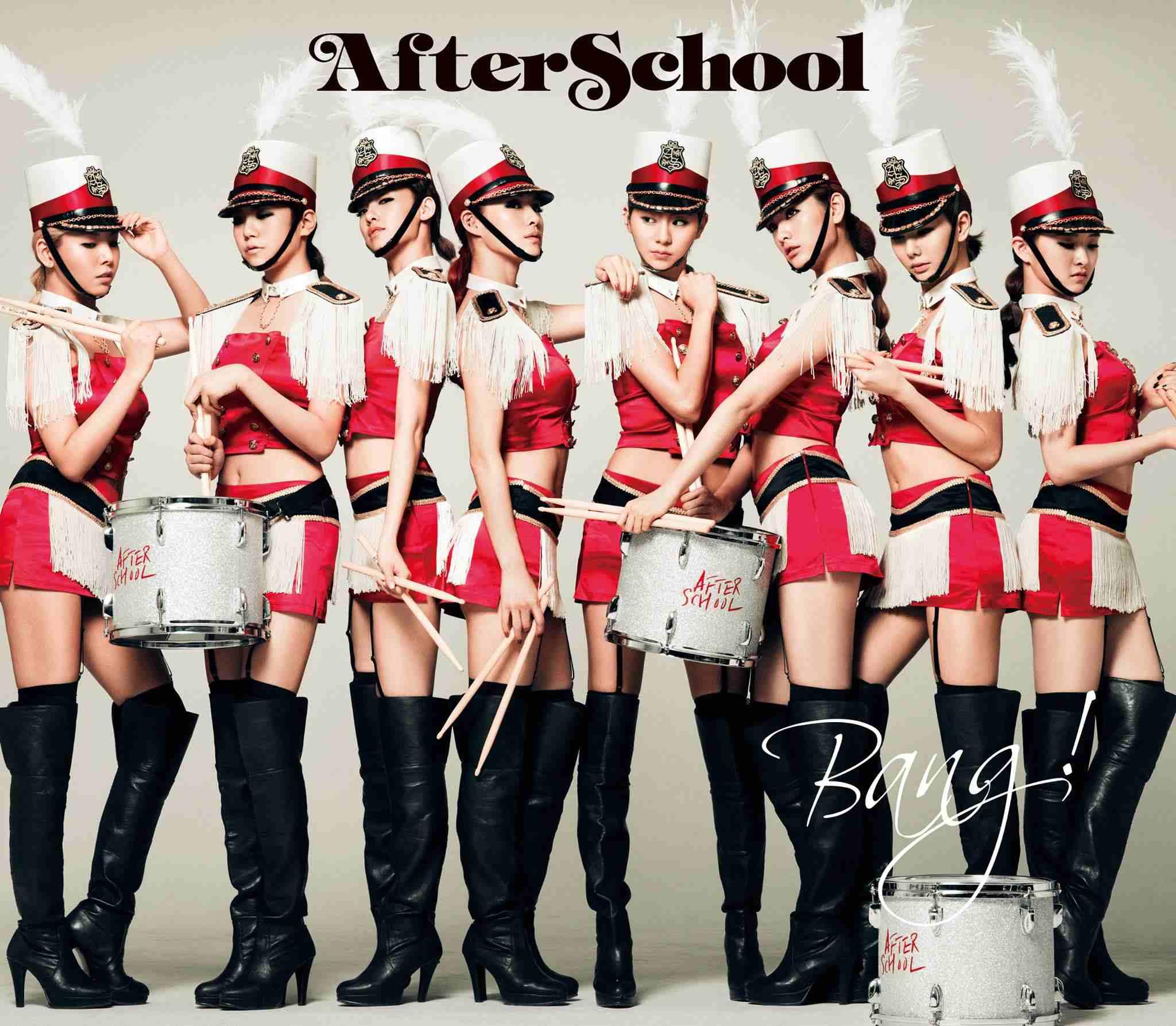 另外After School在《Bang!》的造型也堪稱制服風的經典啊~