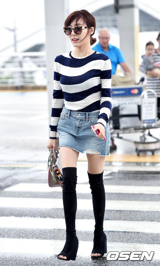 帕妮(Tiffany的暱稱)也太瘦了吧!那大腿是怎麼回事?多吃一點啊~