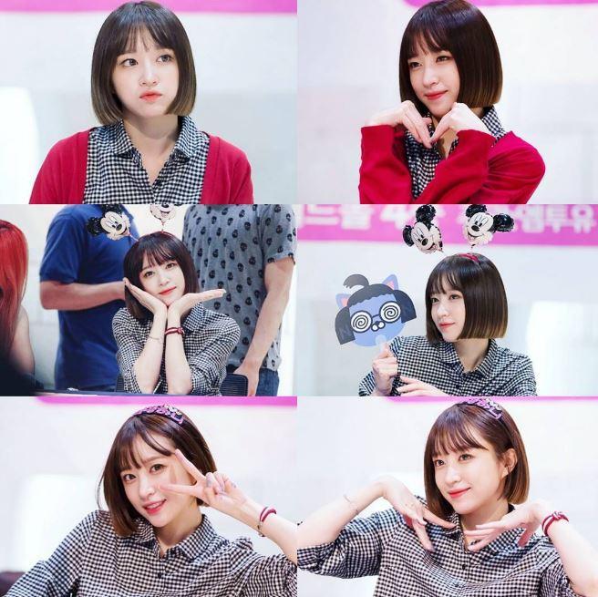 話說後面的粉絲,內心應該會更想看見Hani的臉,而不是法老王面具吧(笑)不過粉絲們送Hani的禮物,真的都很適合Hani欸!