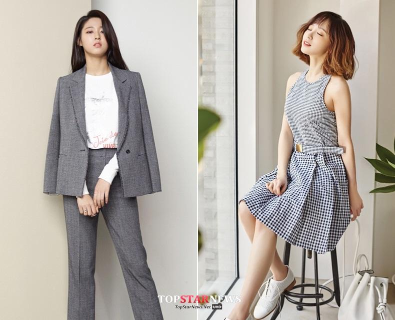 除了封面偷偷透露給大家的雪炫和Hani以外,另外兩位擁有女神級顏值的偶像就是…