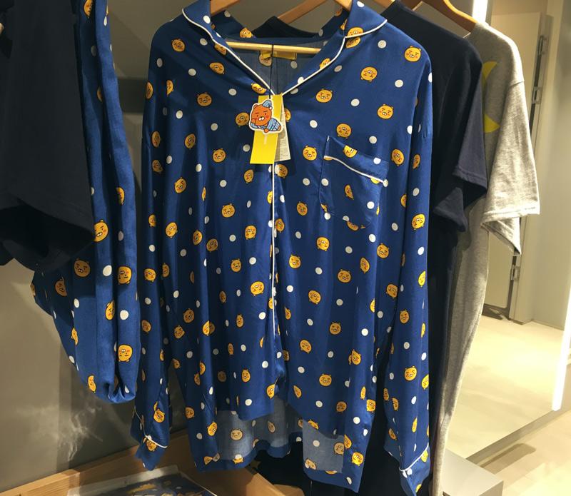 要不是這是睡衣,小編真的很想把它穿上街啊XDD