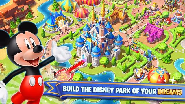 ► Disney Magic Kingdoms 跟熊大農場一樣是養成遊戲,不過他是在蓋屬於自己的迪士尼樂園~小編從一開始到現在都非常認真的在經營,就是為了把迪士尼給蓋好XDD 動畫設計超精緻,希望小熊維尼趕快出現啊~
