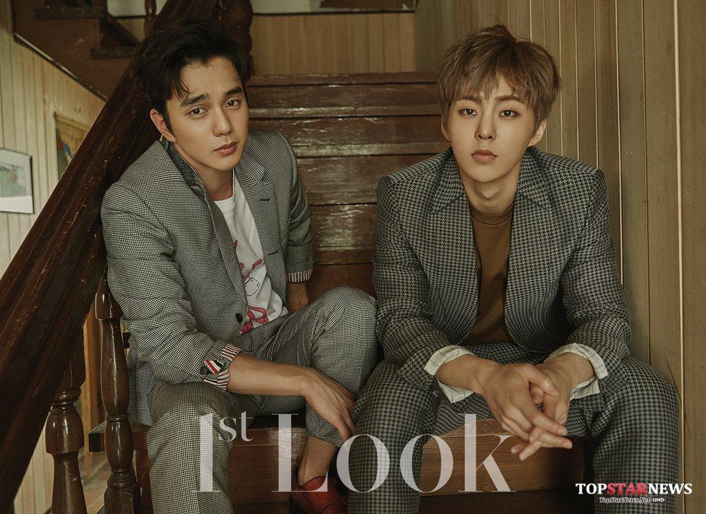 不過韓國網友們意外發現!過去有著國民弟弟之稱的俞承豪,在這組畫報中的眼神和氣勢,和某位男神級韓星超像?