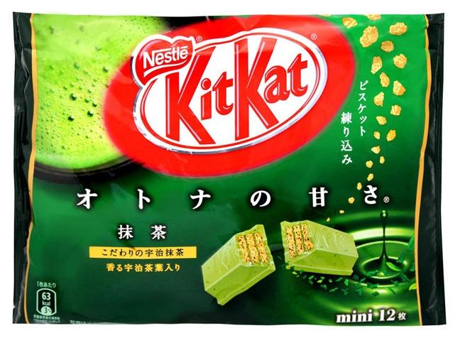 ▶ Kitkat 雀巢奇巧抹茶口味 應該很少人不喜歡吃Kitkat吧~ 威化餅夾上抹茶醬,甜而不膩真的會讓人一直想要吃下去呢