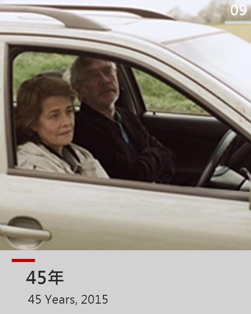 前任幾乎是每段感情的惡夢,四十五週年結婚紀念日的前夕,丈夫Geoff收到了當年初戀情人遺體被找到的消息,妻子Kate因而開始窺探起丈夫的過去,四十五年的感情在七日內分崩離析 當Kate得知越多丈夫與舊情人的過去,她心中懷疑的種子越發生長,她開始猜忌自己是否並非丈夫的最愛,是否自己只是一個替代品、一個影子,丈夫無心流露對舊情人的眷戀與懷想,都是一塊塊壓在Kate心上的石頭,最終將她壓垮