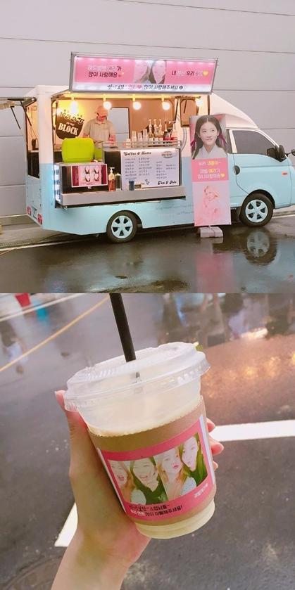 在韓國支持偶像或演員的方式有很多種,除了一般的花籃以外,餐車應援也是常見的應援方式之一!
