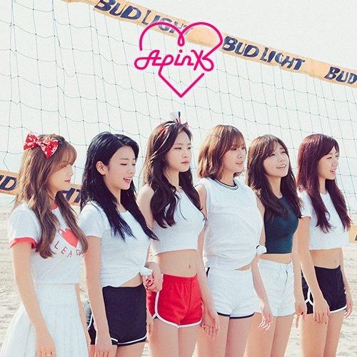 #09. A Pink 團名取「Apink」是因為成員們希望在各方面都能獲得滿分(A)並和粉紅色(pink)結合,希望成為大家都喜歡的少女