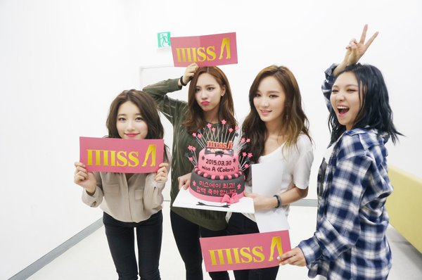 #11. miss A 團名miss A的「A」具有Asia和Ace雙重含義,希望在各方面擁有「A級」實力並且成為「亞洲」最棒的團體