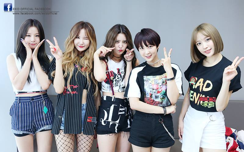 #01. EXID 意思為「Exceed In Dreaming(超越夢想)」