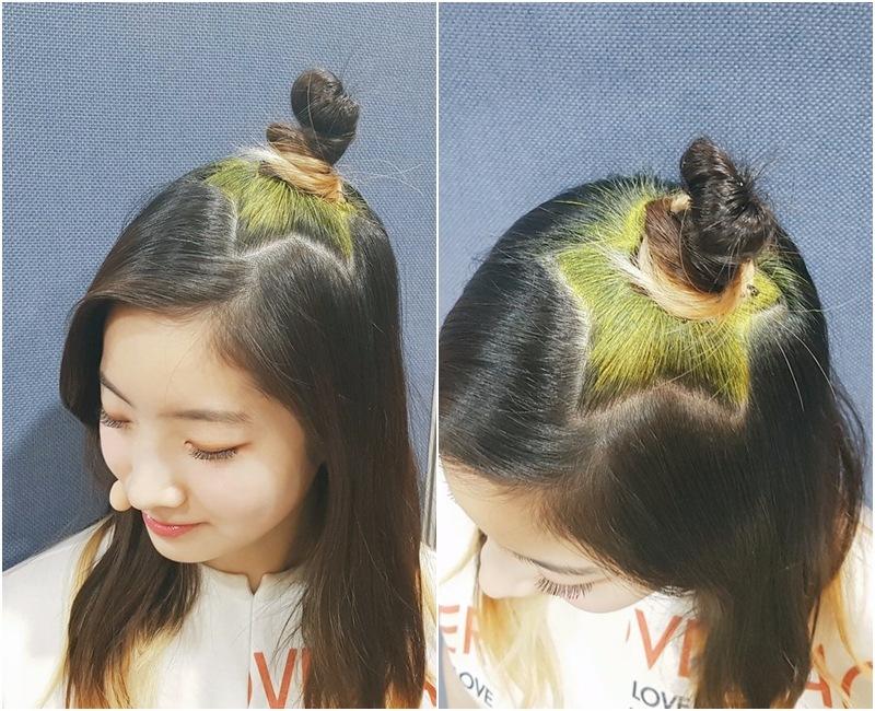 雖然 JYP 的髮型師很獵奇(X) 很認真工作(O),為TWICE成員們設計造型這一點大家都知道…