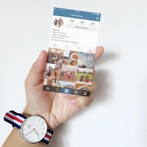 廢話不多說,我們現在就進入正題! 不知道前陣子在instagram上面超流行的漂浮手機大家還記得嗎~它就是用picsart做出來的喔!