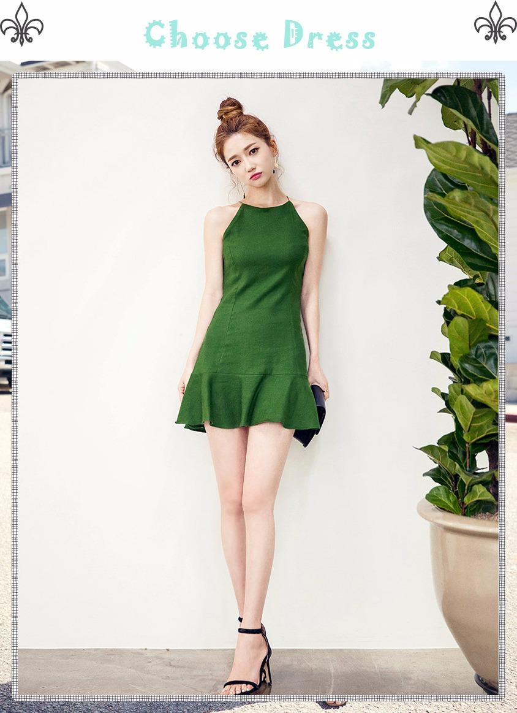 此外因少穿綠色或灰色調的裙子,這樣會使皮膚顯得更黃甚至會顯出「病容」,紫色也不好看哦~