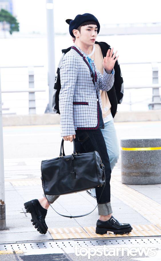 接著來看可愛的蹦米♥ Key果然又展現了與凡人不同的英倫時尚啊~~~