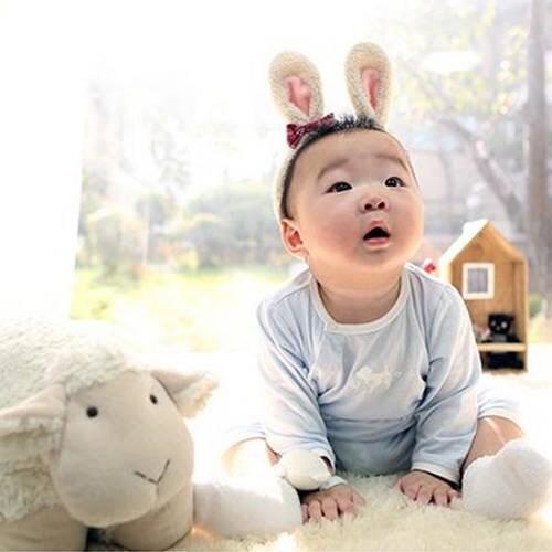 除了有羊寶寶民國,還有兔寶寶大韓!ㅠㅠㅠㅠㅠㅠ