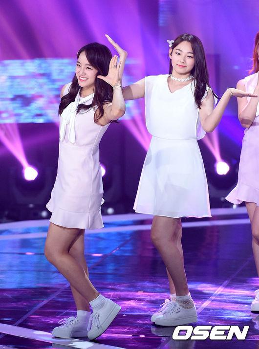 前陣子更和同為I.O.I成員的康美娜,及其他Jellyfish娛樂旗下的練習生,組成公司旗下的第一個女團「gu9udan」