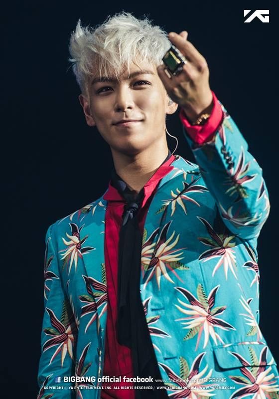 BIGBANG - T.O.P 「超有氣勢的眼神跟嘴巴形狀都很像T.O.P,T.O.P好帥~」