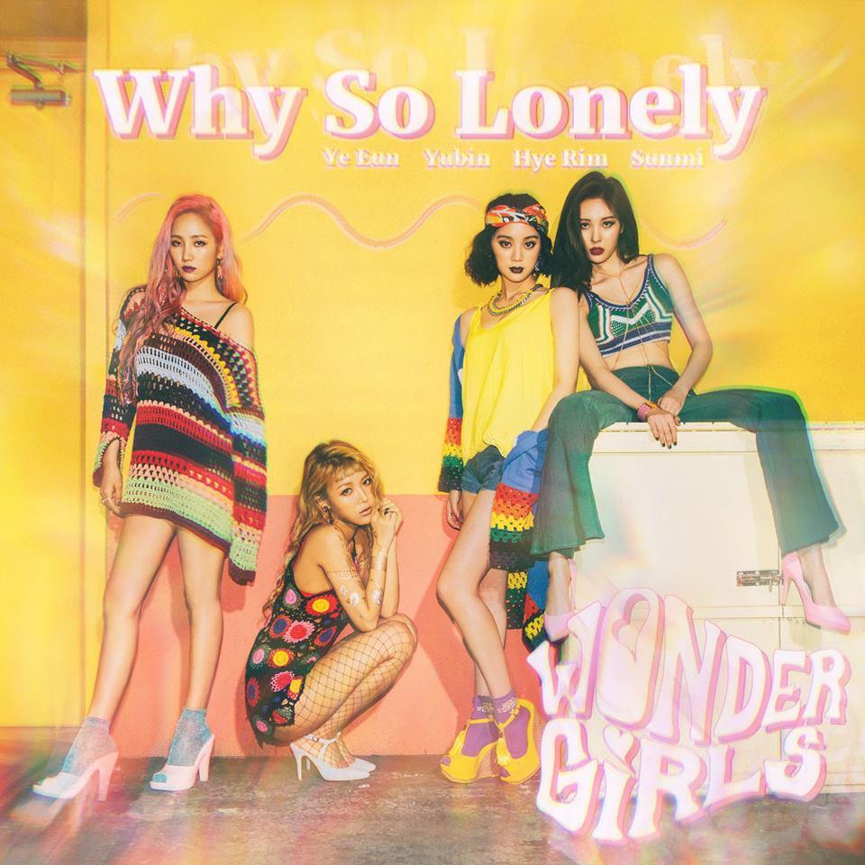 Wonder Girls 的新歌〈Why So Lonely〉在韓國的各大音源網站都擁有很好的成績,不愧是經典女團的代表之一。