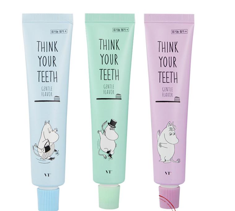 顏色是俘獲少女心的粉嫩馬卡龍色,包裝簡單、可愛,味道也是清爽的薄荷味,不但可以讓口腔清新,還可以改善口臭和蛀牙。