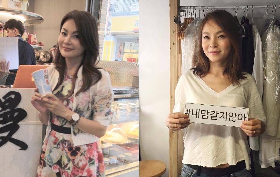 和子瑜媽媽長得很像的節目嘉賓~就是這位韓國實力派女歌手-Wax(左:子瑜媽媽,右:Wax)大家覺得有像子瑜媽媽嗎?