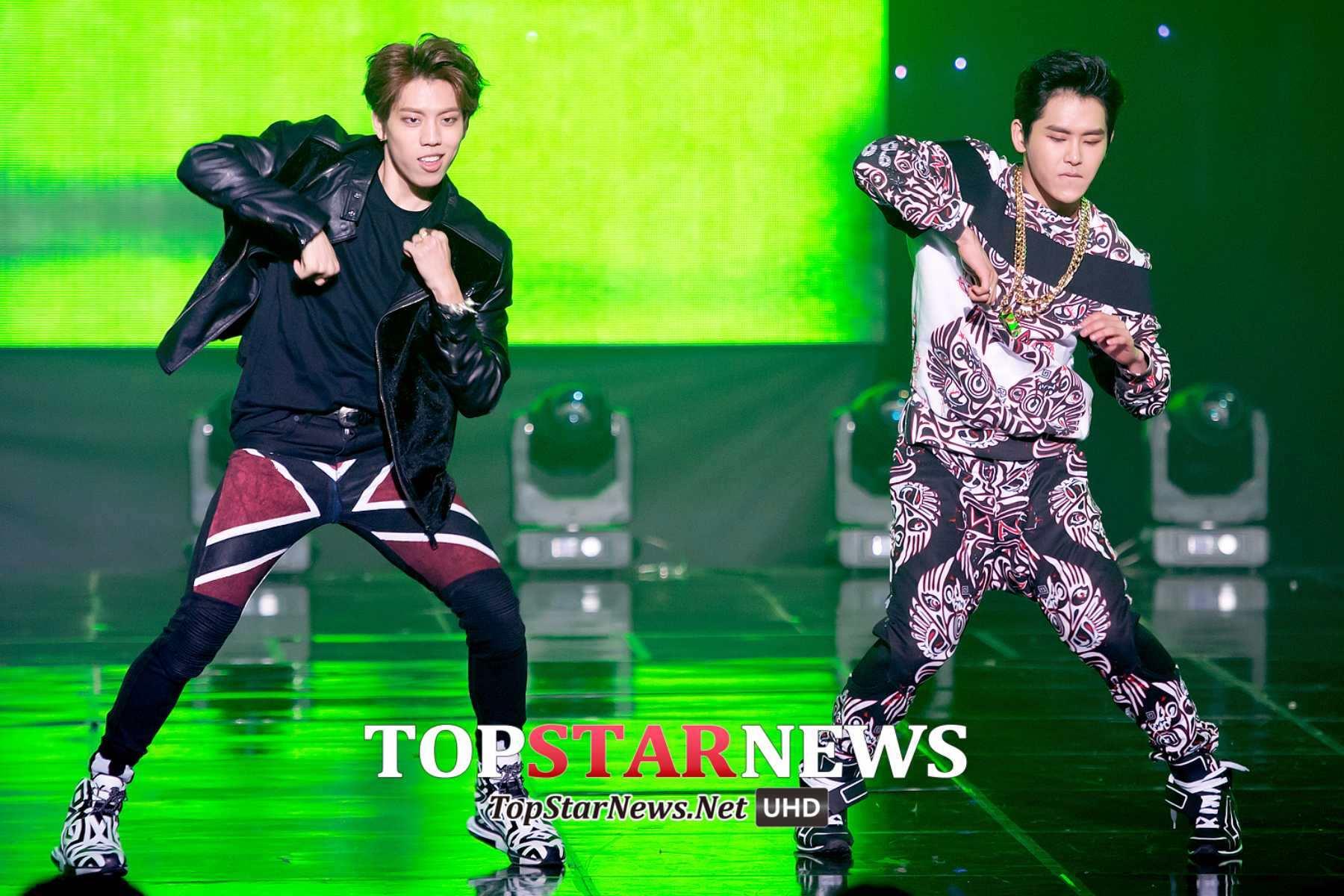 再來就是無限中舞王Rap神東雨跟Hoya~~~~ 兩個人的INFINITE H呈現出不同團體的獨特魅力!把頑童、舞蹈、舞台魅力發揮的淋漓盡致!