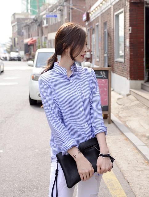 #D.PNY 簡約控的女孩絕對不能錯過!D.PNY有超多T-shirt、襯衫,每件都超好搭啊!而且價格真的是會讓你一次買好幾件XDD因為一件6900韓元起跳~相當於台幣197元左右,兩百元不到的價格,是不是就該下手買一下啊?