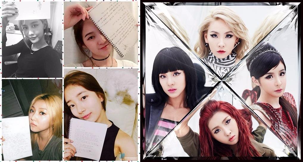 還有雖然現在團隊有變數但是miss A (미쓰에이),2NE1(투애니원)也都是由韓文4個字所組成